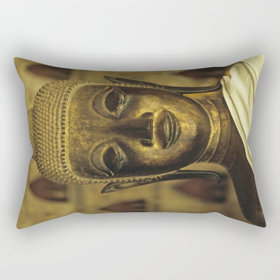 Buddha II Rectangular Pillow
