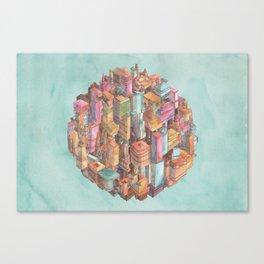 Spherical New York City Canvas Print