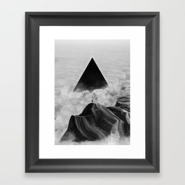 We never had it anyway Framed Art Print