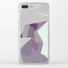 Abstracto3 Clear iPhone Case