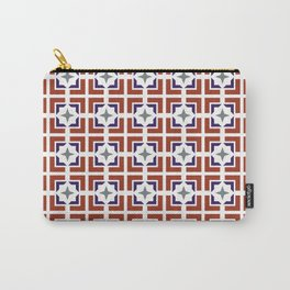 TRELLIS, PATRIOTIC Carry-All Pouch