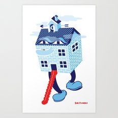 Treasure House Art Print