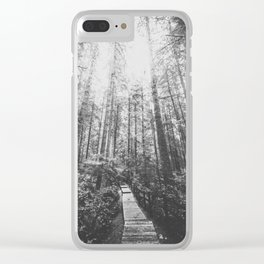 INTO THE WILD XIX Clear iPhone Case
