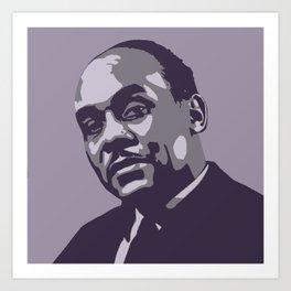 Ralph Ellison Art Print