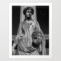 One of the Nine Muses at The Achilleion Palace (i) Art Print