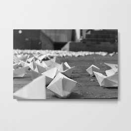 Paperboats #1 Metal Print