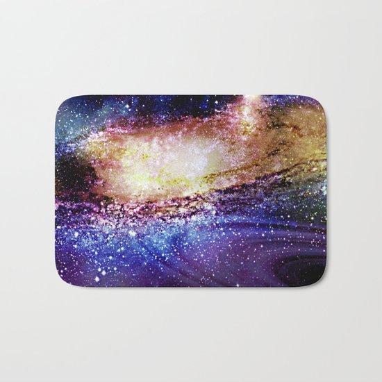 space explosion Bath Mat