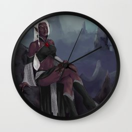 Surveying the Underdark Wall Clock