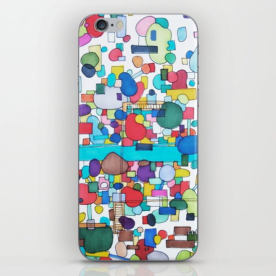 River City iPhone & iPod Skin