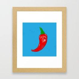 Chilli Sauce Framed Art Print