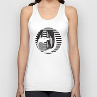 diver Tank Tops featuring diver by Gray