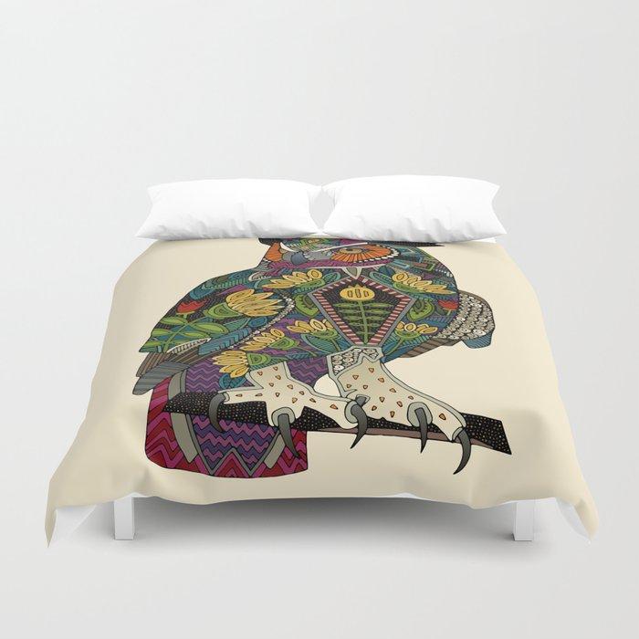 wise owl Duvet Cover
