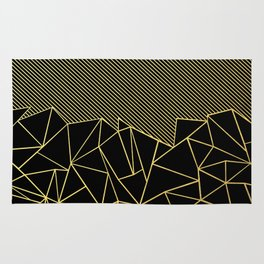 Ab Lines 45 Gold Rug