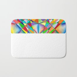 Twinkle Star - The Sacred Geometry Collection Bath Mat