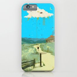 DREAMING IN FOOTHILLS iPhone Case