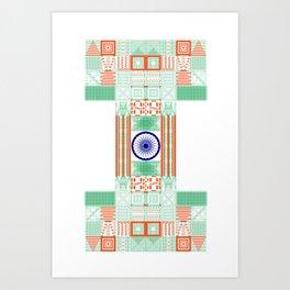 Make in India Art Print
