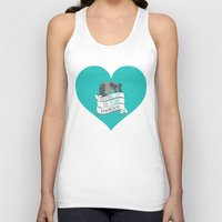 hercules Tank Tops featuring hercules.. giving up is for rookies... meg and hercules by studiomarshallarts