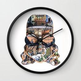 Weedman Wall Clock