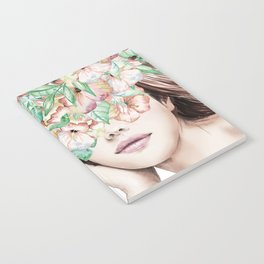 She Wore Flowers in Her Hair Island Dreams Notebook