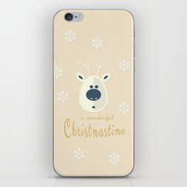 Christmas motif No. 4 iPhone Skin