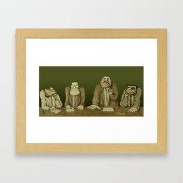 Board of Inquiry Framed Art Print