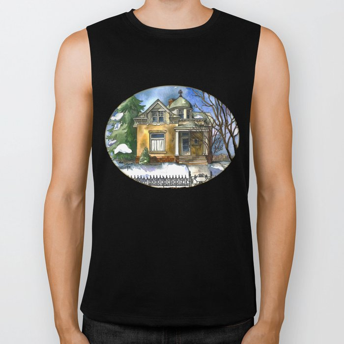The Little Brown House Biker Tank