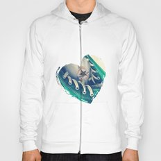 Converse Love in White Hoody