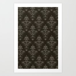 Victorian Wallpaper Art Print