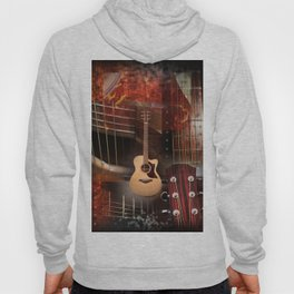 The acoustic guitar Hoody