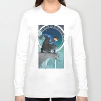 nightwing Long Sleeve T-shirts featuring Nightwing Nouveau by stoopz