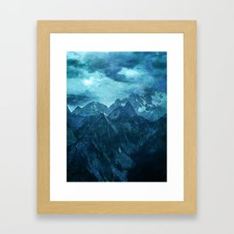 Amazing Nature - Mountains Framed Art Print