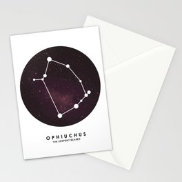 Ophiuchus - Star Constellation Stationery Cards