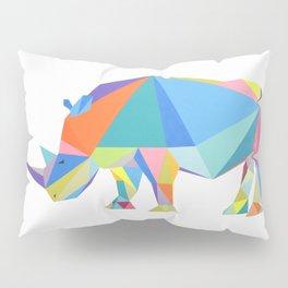 Pop rhino Pillow Sham