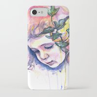 poison ivy iPhone & iPod Cases featuring Poison Ivy by Lauralouisa