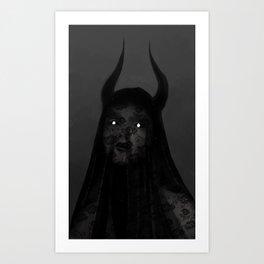 Spectre Eyes Art Print
