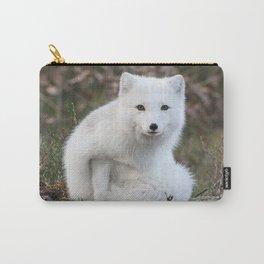 Polar Fox by Anne Elisabeth Carry-All Pouch