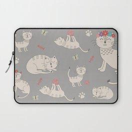 HAPPY CATS Laptop Sleeve