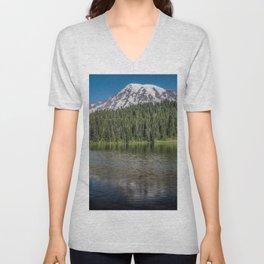 Reflection Lake Unisex V-Neck