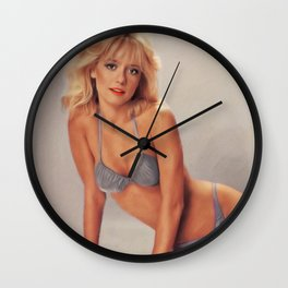 Linnea Quigley, Actress Wall Clock
