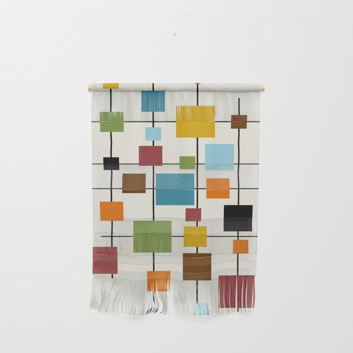 Mid-Century Modern Art 1.3 Wall Hanging