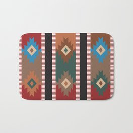American Native Pattern No. 187 Bath Mat
