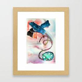 The Critic Framed Art Print