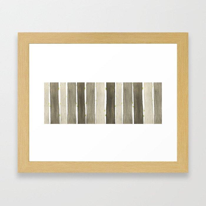 The Wide Woods Framed Art Print