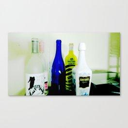 bottles Canvas Print