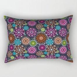 Mandala Dots Rectangular Pillow