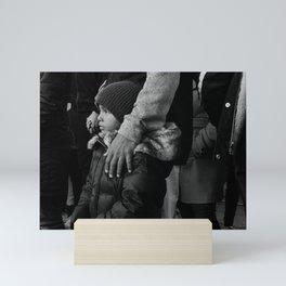 Son & Father Mini Art Print