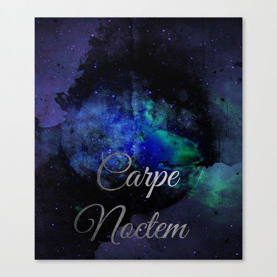 Carpe Noctem (Seize The Night) Canvas Print