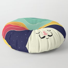 Keep Think Creative Floor Pillow
