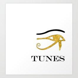 Eye Tunes Art Print