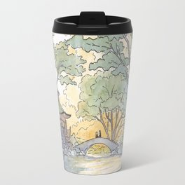 Dream - Watercolor Painting Travel Mug